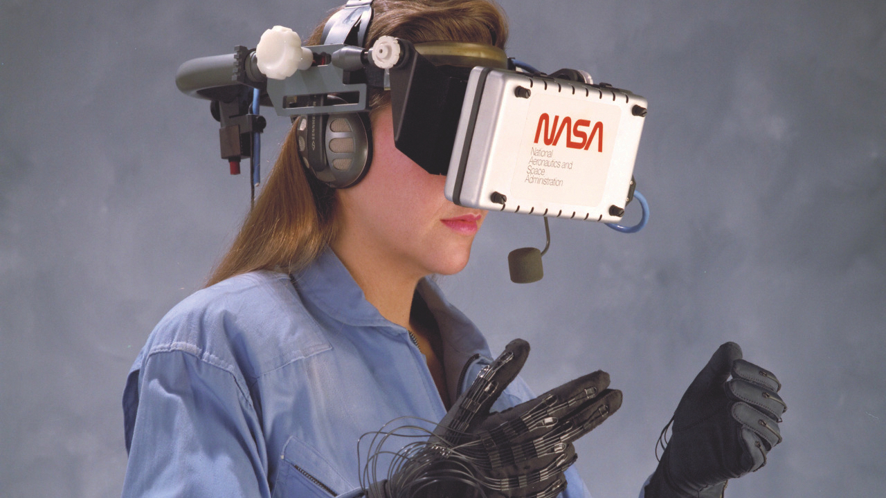 So Serious – 1980's Virtual Reality from NASA