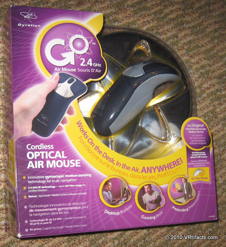 Start with a Gyration Cordless Optical Air Mouse