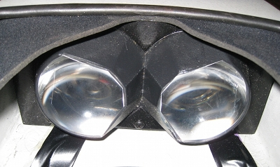 Flight Helmet Optics