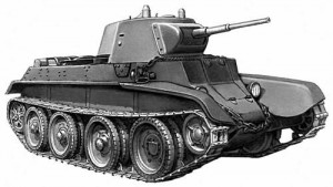 BT-7, light tank