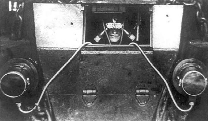 Tank Driver Wearing Dudka