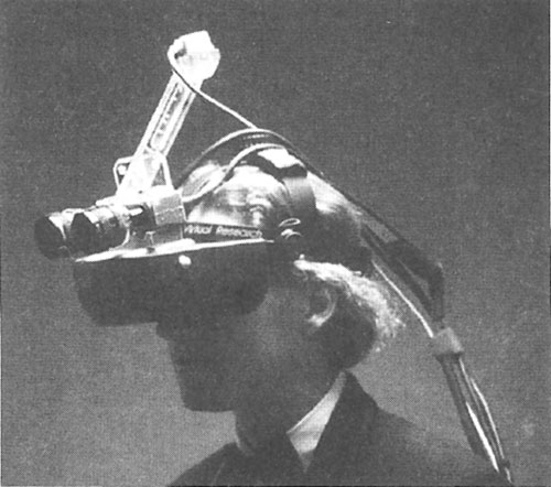 Virtual Research VR-4 Adapted For Stereoscopic Augmented Reality